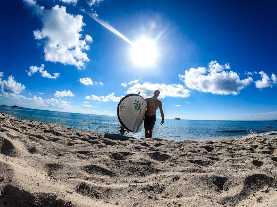 paddleboarding playa del carmen title